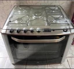 Fogão Eletrotrolux 5 bocas grill/timer