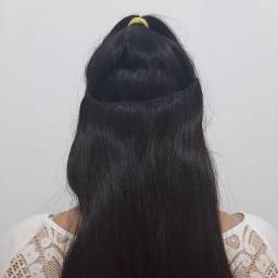 Mega hair - tic tac ou tela costurada