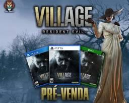 Pré-venda Resident Evil Village ps4/ps5/Xbox