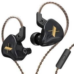 Fones In Ear - KZ E.D.X - Lançamento - Gratis Adaptador P10