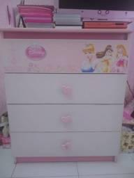 Cômoda Princesas Disney