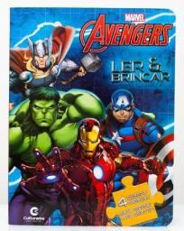 Quebra Cabeça dos Vingadores - Marvel