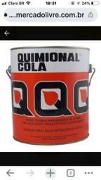 Cola Contato Adesivo Quimional P/ Isopor Forração 3,3l
