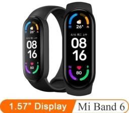 Relógio original Xiaomi Band 6- lacrado- garantia+ brinde- últimas unidades $259,99