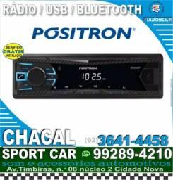 Título do anúncio: Rádio com bluetooth e usb (gratis serviço de instalação)