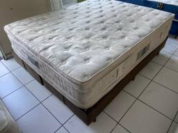 cama box Ortobom Higienizada - entrego