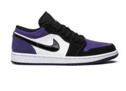 Tênis Nike Air Jordan 1 Low Court Purple Original