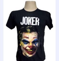 Kit 99,00 combo 4 camiseta Simpson heróis da galáxia coringa Joker DJ mascarado