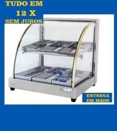 Estufas de salgados e gelo x