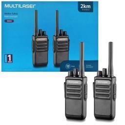 Rádio Comunicador Walkie Talkie Multilaser