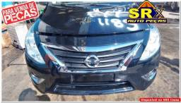 Sucata Nissan  Versa SL 1.6 16v flex 2018