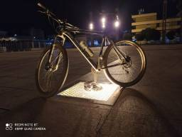 Bicicleta kit alívio 27v quadro tamanho 23 aro 29