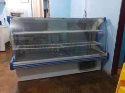 Balcão expositor freezer refrigerador