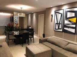 lindo apartamento semi-novo completo 3 qtos. ste salão, elev. 3 vgs. local priv.        v.