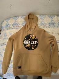 Moletom Original Oakley Amarelo/Mostarda Tamanho G