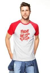 Camiseta Raglan Sexta Feira 13 The Game