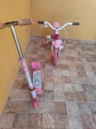 Bicicleta e Patinete