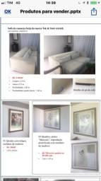 Tapetes,quadros,espelhos,cortinas