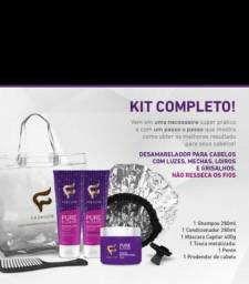 Kit pure blonde fashion cosméticos