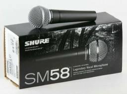 Microfone Profissional Shure Sm-58 Primeira Linha