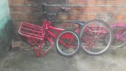 Bicicleta Cargueira pra vender logo