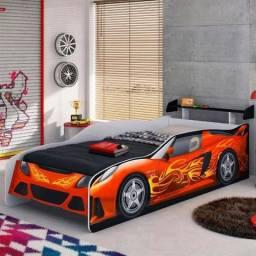 Oferta cama infantil sport car e carruagem top