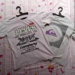 Combo 2 camisas masculinas R$7,00