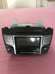 Mp3 cd rádio bluetooth hyundai ix35 original
