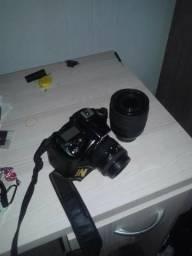 Nikon D90 com 2 lentes 55mm e 105mm