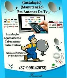 Instalação Manutenção Em Antenas De Tv Em (Itaúna)