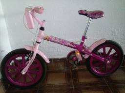 Bicicleta Caloi da Barbie aro 16