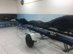 Carretinha Barco 5 metros reboque