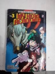 Vendo vol.3 do manga (my hero academy)