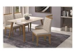 Ofertas de Fevereiro- Mesa de jantar com 4 cadeiras Adele -chame 97970-4415 b1f1e95f23
