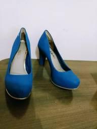 Scarpin Dakota Azul royal Salto alto 82bcd3cbb1ef6