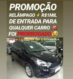 Ford/KA 1.0 SE 2018 COM R$1MIL DE ENTRADA NA SHOWROOM AUTOMÓVEIS