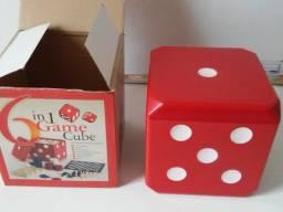 Kit Jogos - xadrez, dama, gamão, cartas, dominó e dados