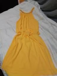 Vestido de festa Amarelo P/M