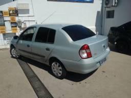 Clio Sedan 1.6 Completo 73.000 km venda ou troca carro de menor valor - 2008