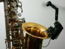 Transmissor + Microfone JTS Sax Guitarra Sopro UR816D