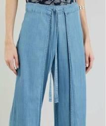Calça Jeans Pontalona