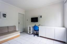 Mobiliado,ap 14 A, sala e quarto, WI-FI e 2 LCD, pertinho do mar