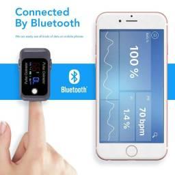 Oxímetro fingertip com conexão bluetooth