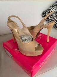 Sandália meia pata rosê