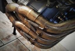 Escapamento CS Racing - Honda CB650F c/ Nota Fiscal