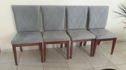 Jogo de 8 cadeiras