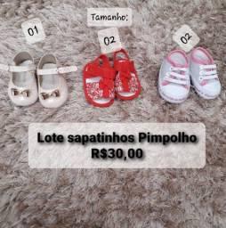 Roupas e sapatos menina