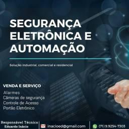 Técnico CFTV Camaçari/ Eletricista Camaçari