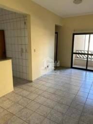 Apartamento com 2 dormitórios para alugar, 65 m² por R$ 800/mês - Vila Seixas - Ribeirão P