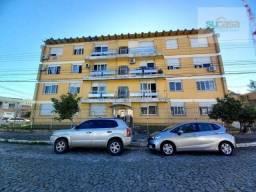 Apartamento com 2 dormitórios para alugar, 60 m² por R$ 1.000,00/mês - Centro - Pelotas/RS